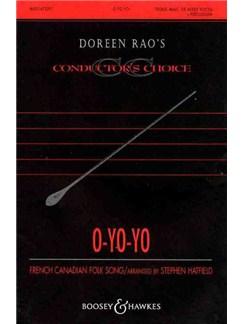 Stephen Hatfield: O-Yo-Yo Books   SATB, Percussion