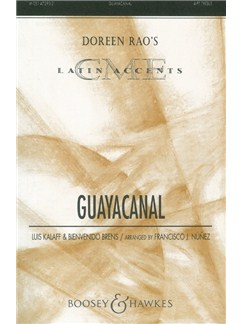 Louis Kalaff/ Bienvenido Brens: Guayacanal (4-Part And Percussion) Books | SSAA, Percussion
