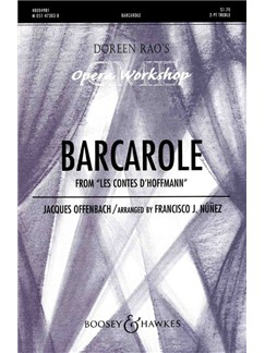 Jaques Offenbach: Barcarolle (Tales Of Hoffmann) Books | 2-Part Choir, Piano Accompaniment, SS