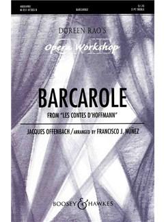 Jaques Offenbach: Barcarolle (Tales Of Hoffmann) Libro | Coro en 2 Partes, Acompañamiento de Piano