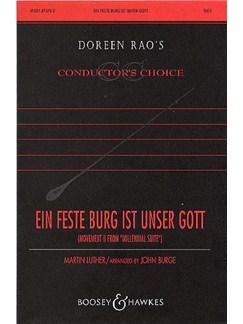 Ein Feste Burg Ist Unser Gott (arr. Burge) Books   SATB, Organ Accompaniment