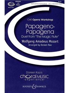 W.A. Mozart: Papageno-Papagena Books | 2-Part Choir, Piano Accompaniment