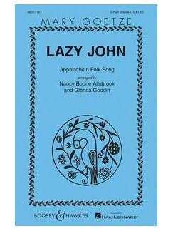 Lazy John (2-Part/Piano) Books | 2-Part Choir, Piano Accompaniment, Percussion