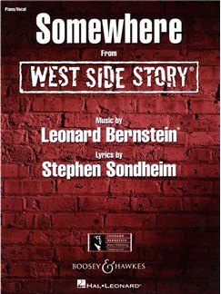 Leonard Bernstein: Somewhere (West Side Story) Books | Piano, Vocal & Guitar