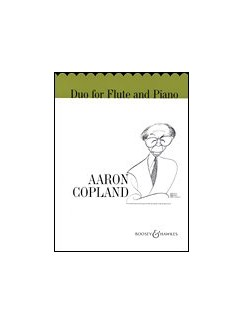 Aaron Copland: Duo For Flute And Piano Books | Flute, Piano Accompaniment