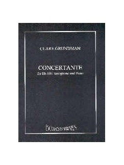 Clare Grundman: Concertante For Alto Saxophone and Piano Books | Alto Saxophone, Piano Accompaniment