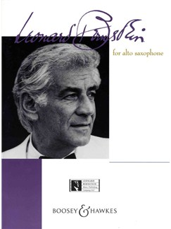 Bernstein For Alto Sax Books | Alto Saxophone, Piano Accompaniment