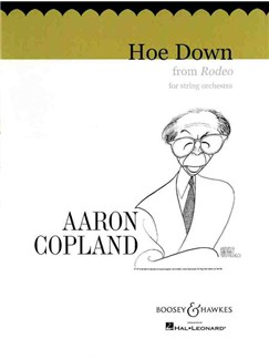 Aaron Copland: Hoe Down (Rodeo) Books | String Orchestra