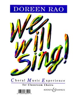 Doreen Rao: We Will Sing! Books | Voice