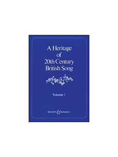 A Heritage Of 20th Century British Song - Volume 1 Books | Voice, Piano Accompaniment