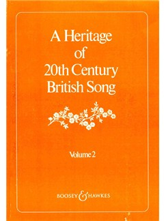 A Heritage Of 20th Century British Song - Volume Two Books | Voice, Piano Accompaniment
