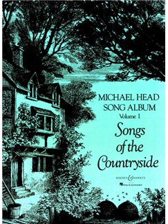 Michael Head: Song Album Volume 1 - Songs Of The Countryside Books | Voice, Piano Accompaniment