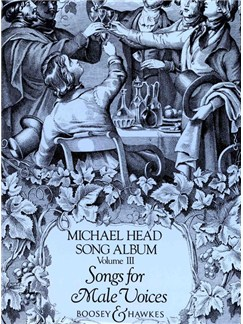 Michael Head: Song Album Volume 3 - Songs For Male Voices Books | Voice, Piano Accompaniment