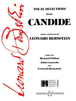 Leonard Bernstein: Candide - Vocal Selections Books | Voice, Piano Accompaniment