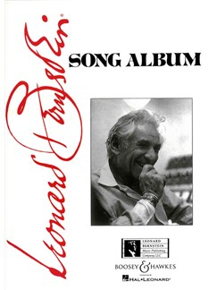 Leonard Bernstein: Song Album Books | Voice, Piano Accompaniment