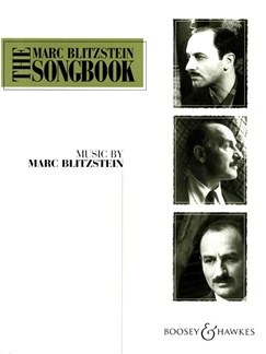 Marc Blitzstein Songbook 1 Books | Piano, Voice