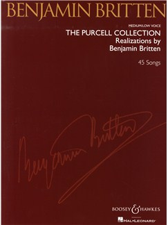 Benjamin Britten: The Purcell Collection - Medium/Low Voice Books   Medium Voice, Low Voice, Piano Accompaniment