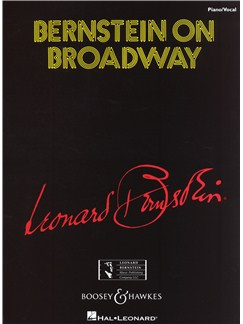 Leonard Bernstein: Bernstein On Broadway Books | Voice, Piano Accompaniment (with Chord Symbols)
