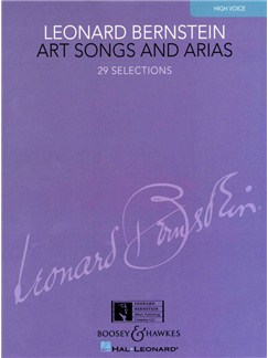 Leonard Bernstein: Art Songs And Arias (High Voice) Books | High Voice, Piano Accompaniment