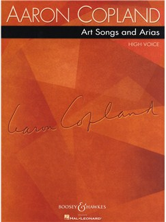 Aaron Copland: Art Songs And Arias - High Voice Books | High Voice, Piano Accompaniment
