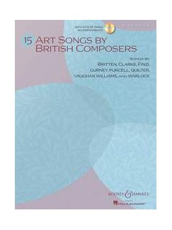 15 Art Songs By British Composers (High Voice/Piano) Books and CDs | High Voice, Piano Accompaniment