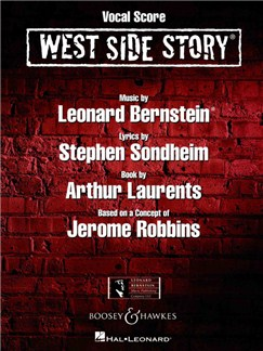 Leonard Bernstein: West Side Story (Vocal Score) Books | Voice, Piano Accompaniment
