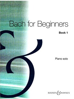 J.S. Bach: Bach For Beginners Book One Books | Piano