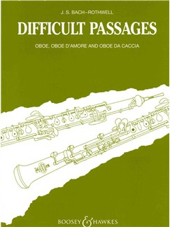 J.S. Bach: Difficult Passages For Oboe Books | Oboe