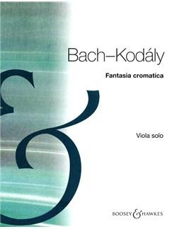 J.S. Bach: Fantasia Cromatica (Viola) Books | Viola