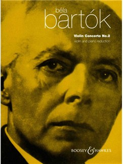 Bela Bartok: Violin Concerto No.2 Books | Violin, Piano Accompaniment