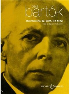 Bela Bartok: Viola Concerto Op. Posthumous (Viola/Piano) Books   Viola, Piano Accompaniment