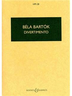 Bela Bartok: Divertimento For String Orchestra (Study Score) Books |