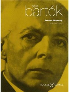 Bela Bartok: Second Rhapsody (Violin and Piano) Books | Violin, Piano Accompaniment
