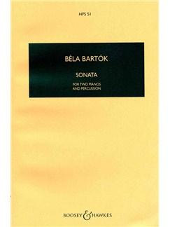 Bela Bartok: Sonata for 2 Pianos and Percussion Books | Percussion, Piano Duet
