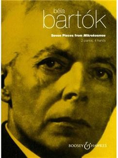 Bella Bartok: Seven Pieces From Mikrokosmos Books | Two Pianos