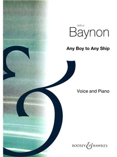 Arthur Baynon: Any Boy To Any Ship (Unison) Books | Unison Voice, Piano Accompaniment