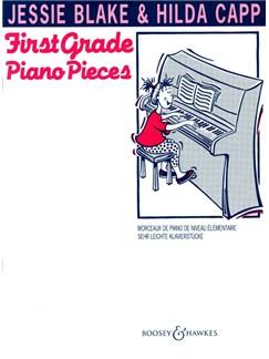 Jessie Blake And Hilda Capp: First Grade Piano Pieces Books | Piano