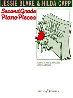 Jessie Blake And Hilda Capp: Second Grade Piano Pieces Books | Piano