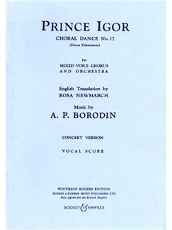 Polovtsian Dances: Prince Igor Books | SATB