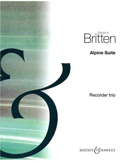 Benjamin Britten: Alpine Suite For Recorder Trio Books | Recorder (Trio)