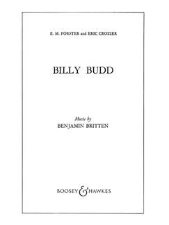 Billy Budd Op50 Books | Libretto