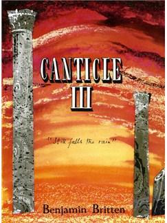 Benjamin Britten: Canticle 3 - Still Falls Rain Books | Voice, Horn, Piano Accompaniment