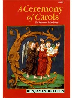 Benjamin Britten: A Ceremony Of Carols Op.28 (SATB) Bog | Harpe, SATB, Klaverakkompagnement