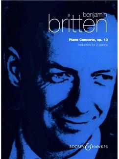 Benjamin Britten: Piano Concerto Op.13 (2 Pianos, 4 Hands) Books | Piano Duet