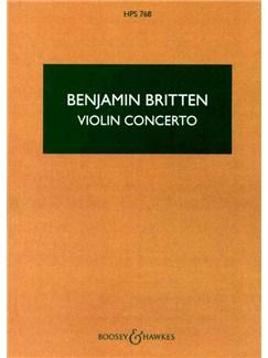 Benjamin Britten: Violin Concerto Op. 15 Books   Orchestra
