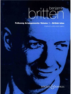 Benjamin Britten: Folksong Arrangements - Volume 1 (High Voice) Books | High Voice, Piano Accompaniment
