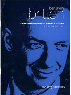 Benjamin Britten: Folksong Arrangements 2 (Medium Voice) Books | Medium Voice, Piano Accompaniment