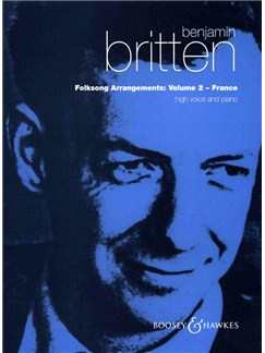 Benjamin Britten: Folksong Arrangements 2 (High Voice) Books | High Voice, Piano Accompaniment