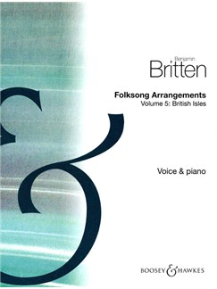 Benjamin Britten: Folksong Arrangements Volume 5 Books | Voice, Piano Accompaniment