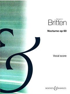 Benjamin Britten: Nocturne Op.60 Books | High Voice, Piano Accompaniment